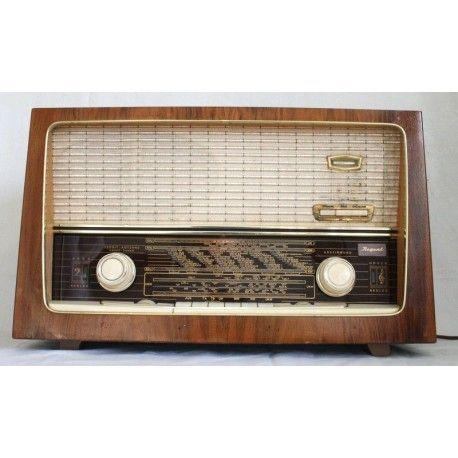 ANTIGUA RADIO REGENT FUNCIONANDO