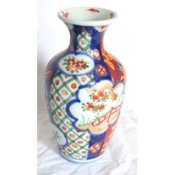 Antiguo florero de Porcelana Imari