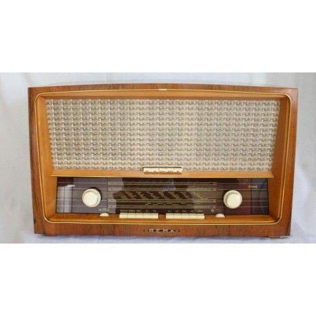 Radio antigua rema 8001 de los años 1960 y funcionando