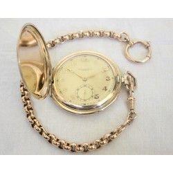 Antiguo Reloj de Bolsillo, Saboneta Suizo de origen y funcionando