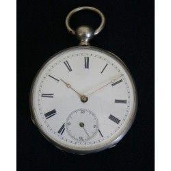 Antiguo reloj de bolsillo, de llave, fabricado en Liverpool y funcionando