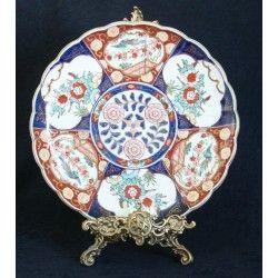 Antiguo plato de Porcelana Imari Gold