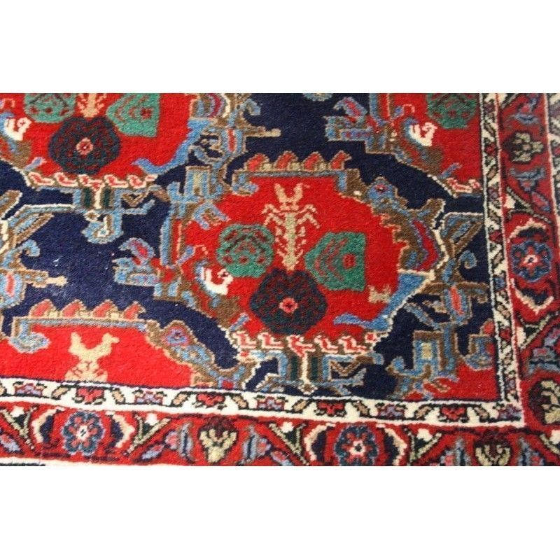 Antigua alfombra persa de lana for Alfombras de antigua