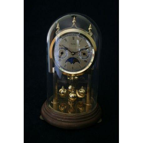Funcionando De Cristal AlemánCon Y Cupula SobremesaOrigen Reloj w0nm8vN