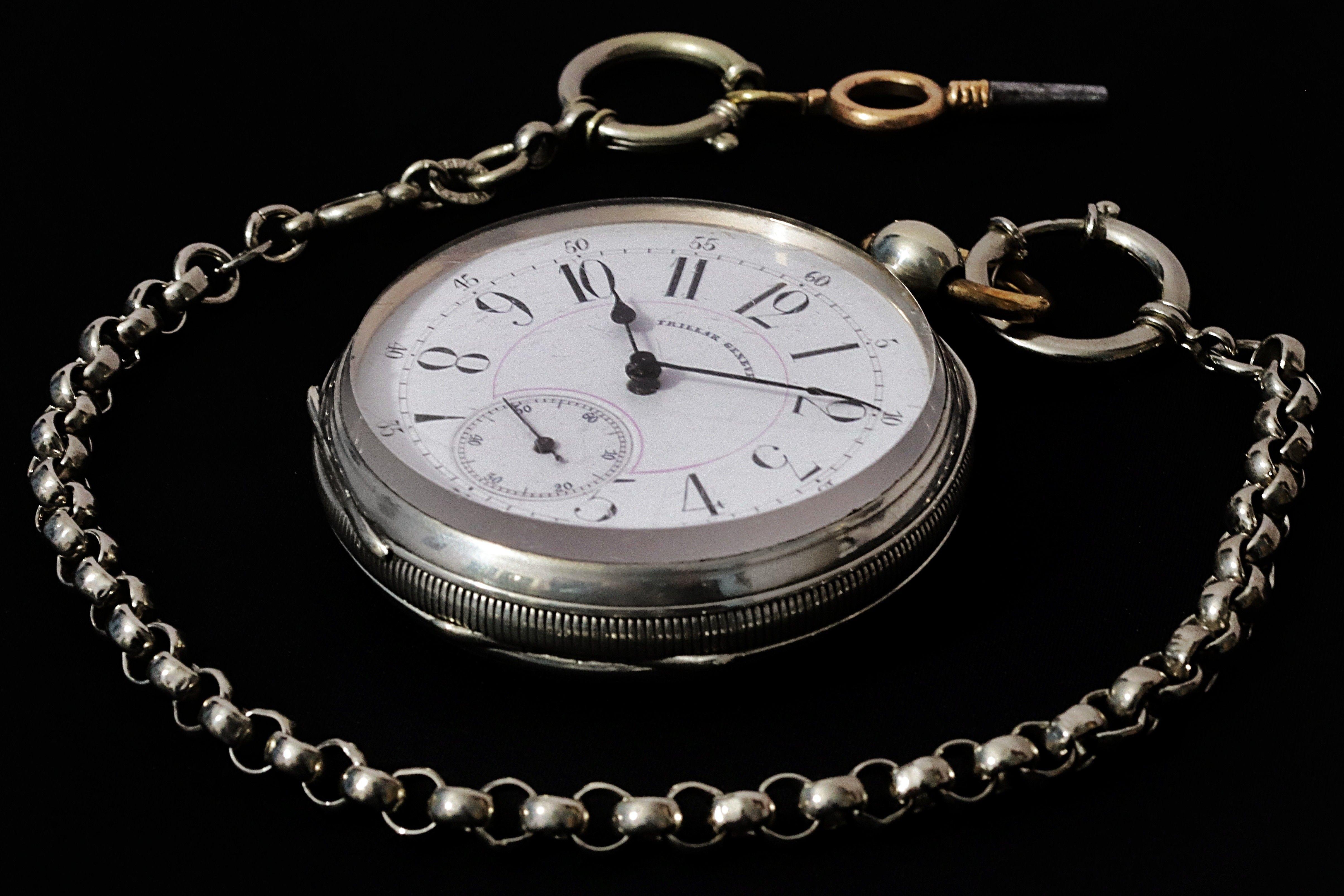 5395d780216b reloj de bolsillo en plata de suiza