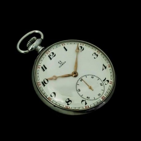 Elegante reloj de plata omega funcionando perfectamente - Relojes para casa ...