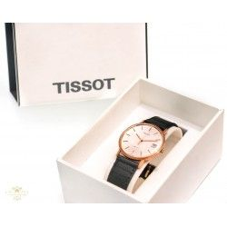 Clásico reloj de pulsera Tissot, oro 18 quilates.en perfecto estado de funcionamiento,diseño vintage.