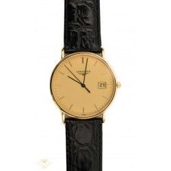 Espectacular reloj de pulsera Longines oro 18 quilates, en perfecto estado de funcionamiento con su estuche original