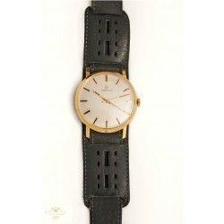 Precioso reloj de pulsera, de oro 14K de la marca Certina de origen suizo, de los años 1970.