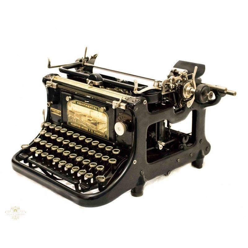 Máquinas de escribir tecla Typewriter pulsera deseo la letra plata negro