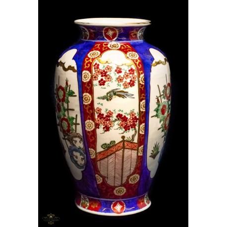 Un jarron muy bonito de porcelana antigua pintado a mano for Marcas de vajillas de porcelana