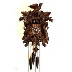 Antiguo reloj aleman, cucu, en perfecto estado y funciona perfectamente con tres pesas