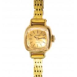 Espectacular reloj caja de oro para mujer, de cuerda manual de la marca TISSOT