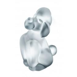 Precioso perrito de cristal Sevres, de origen francés