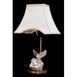 Bonita lampara de porcelanaTengra