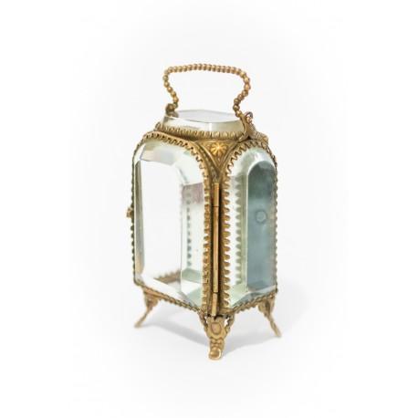 Caja antigua para guardar reloj de bolsillo