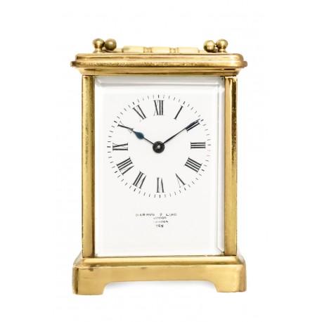 Antiguo reloj de carruaje, cuerda manual ,de origen ingles.