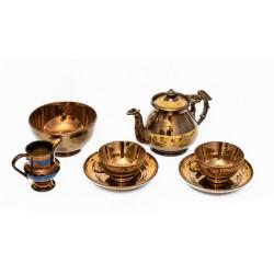 Juego de cerámica antigua Bristol, de origen ingles.