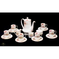Espectacular juego para el té, de origen inglés.