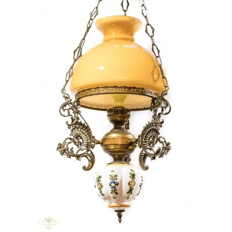 Antigua lampara holandesa, en excelente estado y muy decorativa.