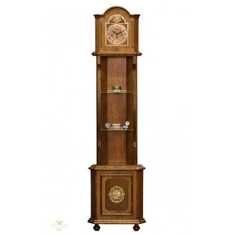 Antiguo reloj de antesala o de pie de cuerda manual