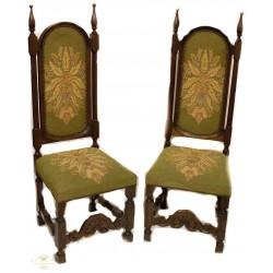 Bellísimos sillones alfonsinos, de origen inglés, en excelente estado.