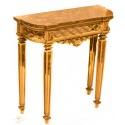 Antigua mesa recibidor en madera de diseño clásico