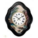 Antiguo reloj francés ojo de buey, con sonería las horas y medias , y funcionando