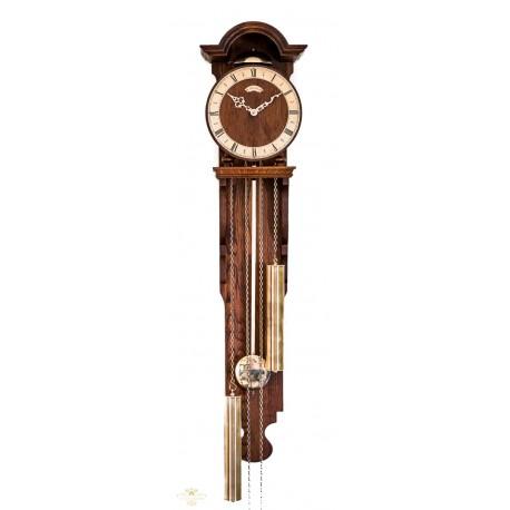 Espectacular antiguo reloj holandes de pesas y cuerda manual