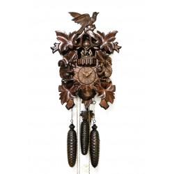 Antiguo reloj aleman, cuco, en perfecto estado y funciona perfectamente de los cuartos con tres pesas