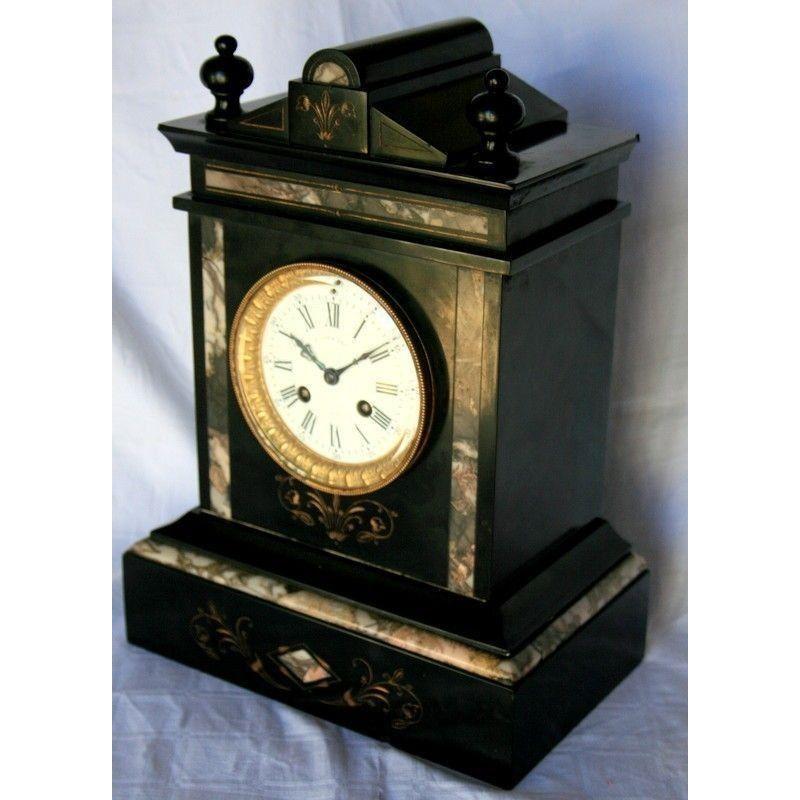 Reloj antiguo de sobremesa maquina paris funcionando - Relojes de sobremesa antiguos ...