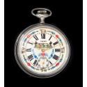 Antiguo reloj de bolsillo, de origen suizo, de la marca EMEWO y funcionando.