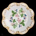 Espectacular plato antiguo de porcelana pintado a mano de origen alemán BAVARIA .