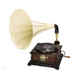 Magnifico Gramófono de TrompetaPathephone6 de origen Francia