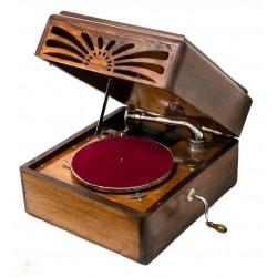 Espectacular Gramófono de la marca Pathé en excelente estado y funcionando