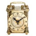 Antiguo reloj de carruaje, cuerda manual ,de origen INGLÉS