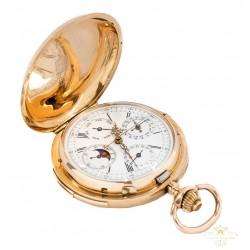 Reloj de bolsillo Gran Complicación, repetición cuartos.