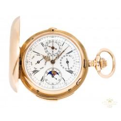 Reloj de bolsillo Alta Complicación, repetición cuartos.