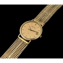 Espectacular reloj de oro Certina, funcionando perfectamente.