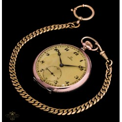 Elegante reloj OMEGA, funcionando a la perfección