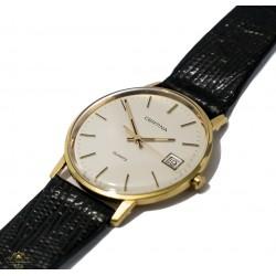 Precioso reloj de pulsera, de oro 14K de la marca Certina de origen suizo.