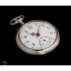Antiguo reloj de bolsillo de origen francés/suizo funcionando