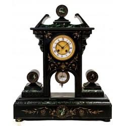 Espectacular reloj antiguo en marmol, de origen francés