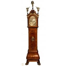 Antiguo gran reloj holandés de pie