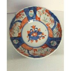 Antiguo cuenco de Porcelana Imari