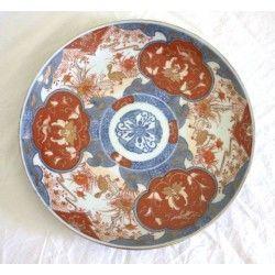 Antiguo plato de porcelana japonesa antigua,IMARI